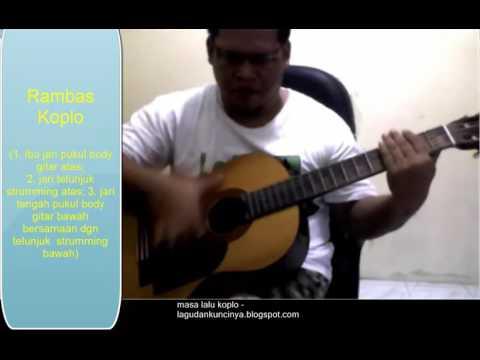 belajar gitar otodidak - masa lalu inul daratista koplo dangdut belajar gitar akustik  golpe