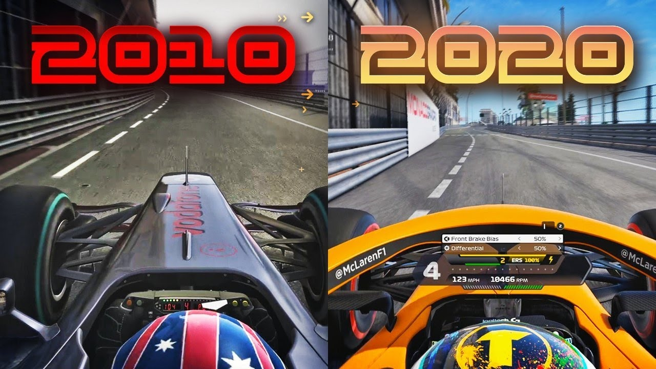 Video: The evolution of the F1 games