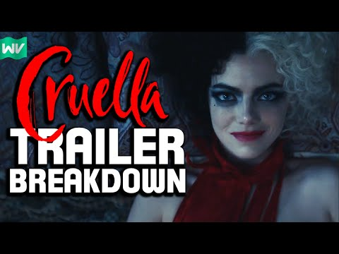 Complete Cruella Trailer Breakdown, Analysis & Theories!