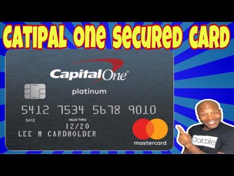 capital one secured credit card youtube. Black Bedroom Furniture Sets. Home Design Ideas