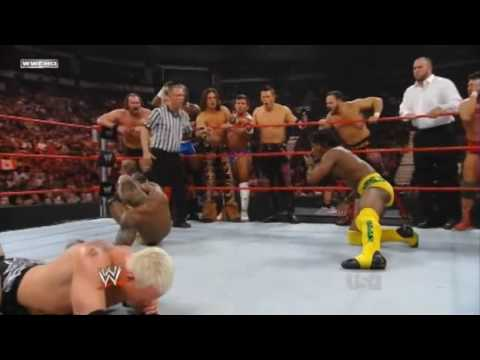 Triple H and Mr Kennedy VS ECW Roster
