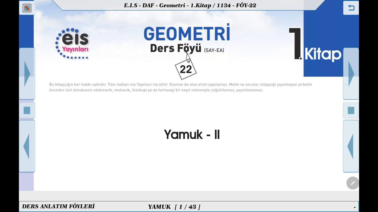 Geometri 1  - Yamuk 2 📘