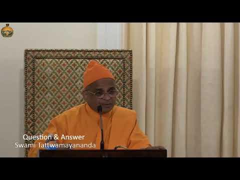 22 -  Arjuna's Conflict And Karma-Yoga   Swami Tattwamayananda