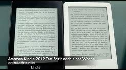 Amazon Kindle 2019 Test Fazit nach einer Woche