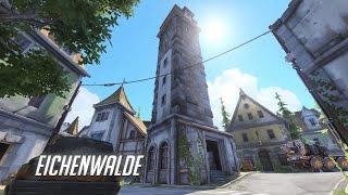 17 Minutes of Overwatch Eichenwalde Gameplay - Gamescom 2016