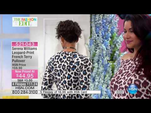 HSN | SERENA WILLIAMS Signature Statement Fashions 03.01.2017 - 01 PM