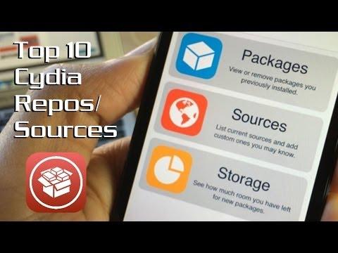 Top 10 Cydia Sources/Repos for iOS 7 (7 1/7 1 1 also)