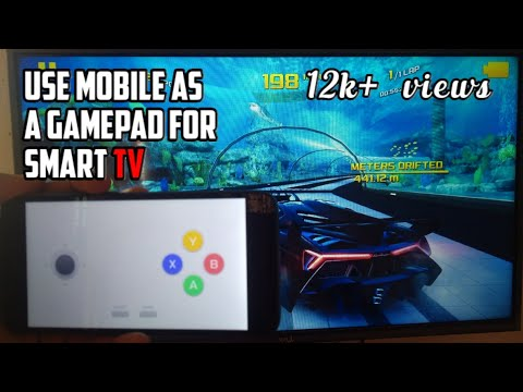 How To Use Your Mobile As Gamepad To Play Games On Smart Tv