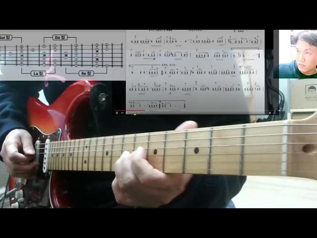 盧家宏吉他秘訣  簡譜C調 主旋律練習