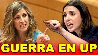 Yolanda Díaz SE ENFRENTA a Irene Montero