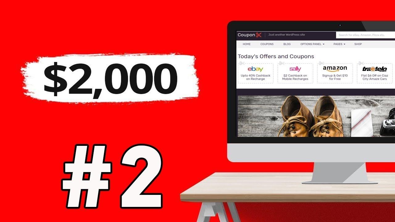 الربح من الانترنت وتحقيق 2000 دولار عبر الافلييت #2