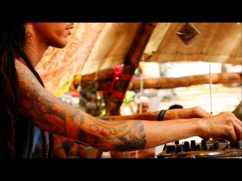 Dark Twilight Night Psytrance Mix   Ajja Live Set