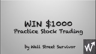 Win $1000 with Wall Street Survivor