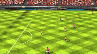 FIFA 14 iPhone/iPad - Manchester Utd vs. Brighton