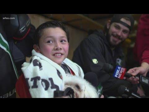 Dan Joyce - Make-A Wish Kid Fights NHL Player