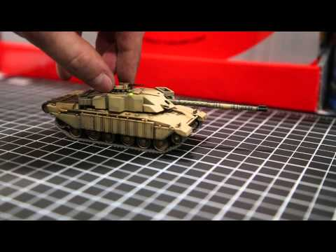 Waltersons 1/72nd scale Challenger tank