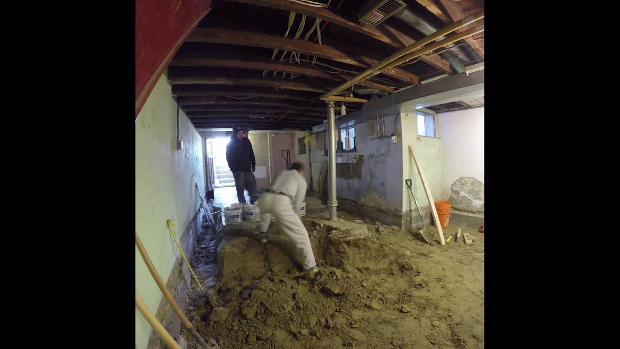 80 years old Downtown Toronto House Remodel  Basement DEMO & 80 years old Downtown Toronto House Remodel : Basement DEMO - YouTube