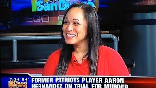 Deanne Arthur talks about the Aaron Hernandez trial on KUSI San Diego