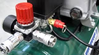 Обзор воздушного компрессора (air compressor) Scheppach PКО 270 A1