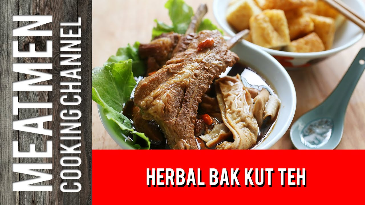 how to cook bak kut teh youtube