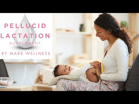 Pellucid - All Natural Herbal Lactation and Breastfeeding Supplement – Increases, Enhances, and En