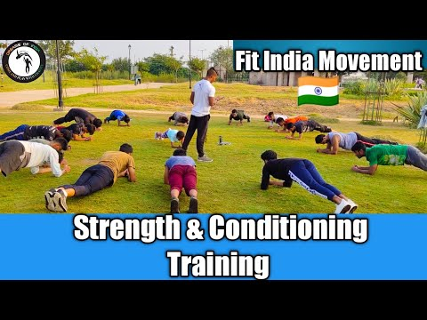 Strength & Conditioning Training | Fit India Movement | By Delhi Dreams Of India Academy