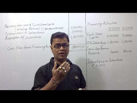 CASH FLOW - FINANCING ACTIVITIES - (Q.6.)