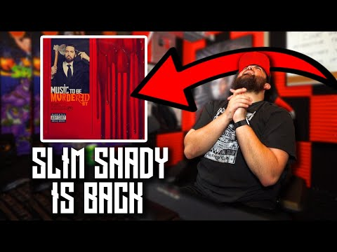 RAPPER REACTS to Eminem - Intro (Premonition) | NEW EMINEM ALBUM