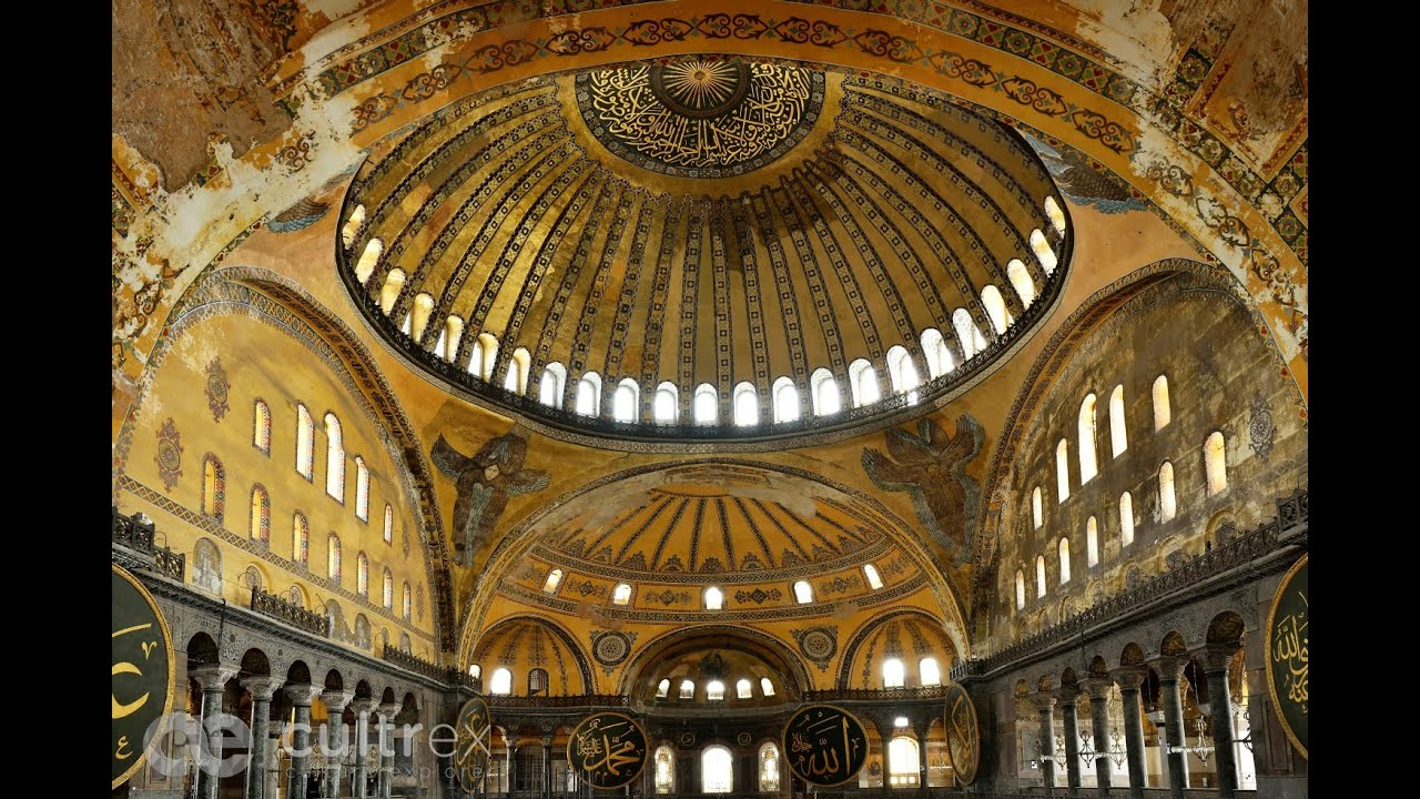 3d Design Interior Hagia Sophia The Magnificent Dome And Advanced Structural