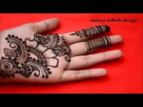 Simple Easy Floral Mehndi Designs Easy Henna Mehndi Designs For