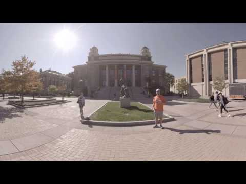 Carnegie Library - Syracuse University 360 Campus Tour x WalkAround VR