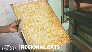 How Traditional Italian Focaccia Bread Is Made In Genoa, Italy  Regional Eats