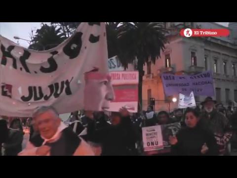 """En Jujuy marcharon contra el """"2x1"""""""