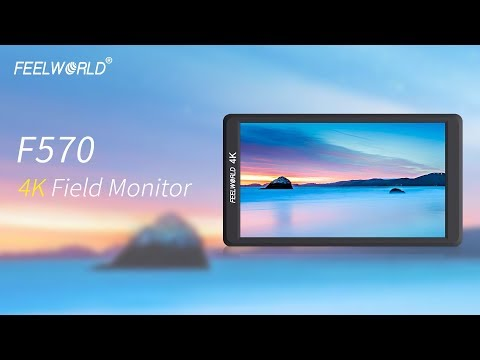 FEELWORLD F570 5.7″ 4K camera field Monitor for Panasonic Sony Canon Nikon Zhiyun Crane 2 Moza Feiyu