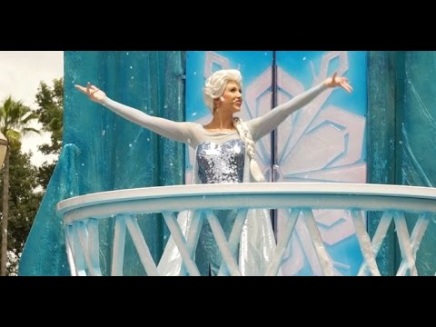 Frozen Royal Welcome Parade at Disney's Hollywood Studios