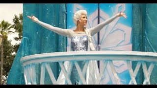 Frozen Royal Welcome Parade at Disneys Hollywood Studios
