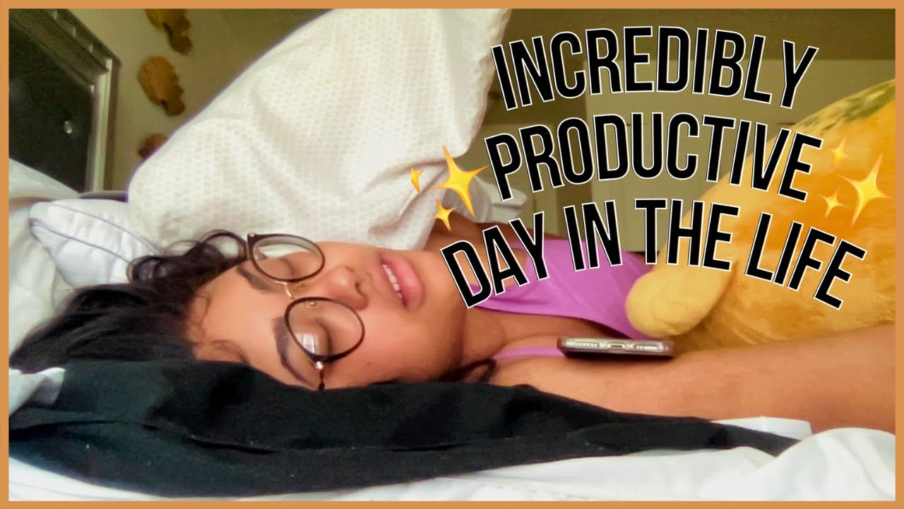 PRODUCTIVE & NOT AT ALL CHAOTIC DAY IN THE LIFE: MUSIC, FOOD, WORKING in that order | KennieJD