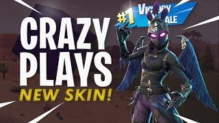 Crazy Plays! w/ New Ravage Skin - Fortnite Battle Royale Gameplay