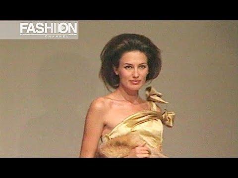 ESCADA Haute Couture Fall 2002 2003 Rome - Fashion Channel