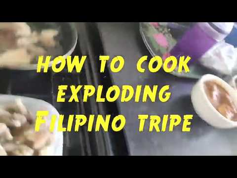 How To Cook EXPLODING FILIPINO TRIPE