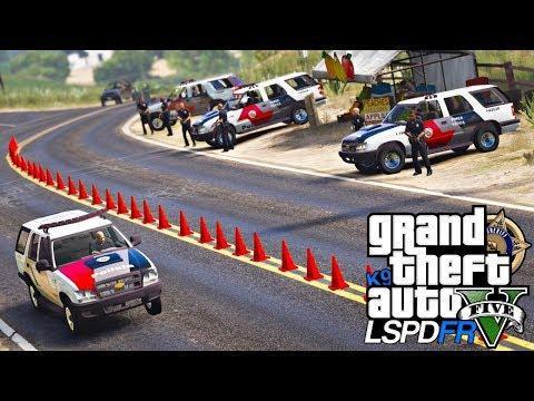 GTA V : MOD POLICIA   BLITZ POLICIAL RESULTA EM TIROTEIO EM NA ABORDAGEM   168