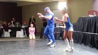 Dance Team #1 Brandon Moses & Courtney Joy #tslice🍕 #dancingwiththelocalstars