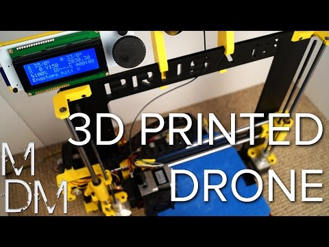 3D PRINTING A DRONE?! - 250 Racing Quadcopter MHQ2 Build #1