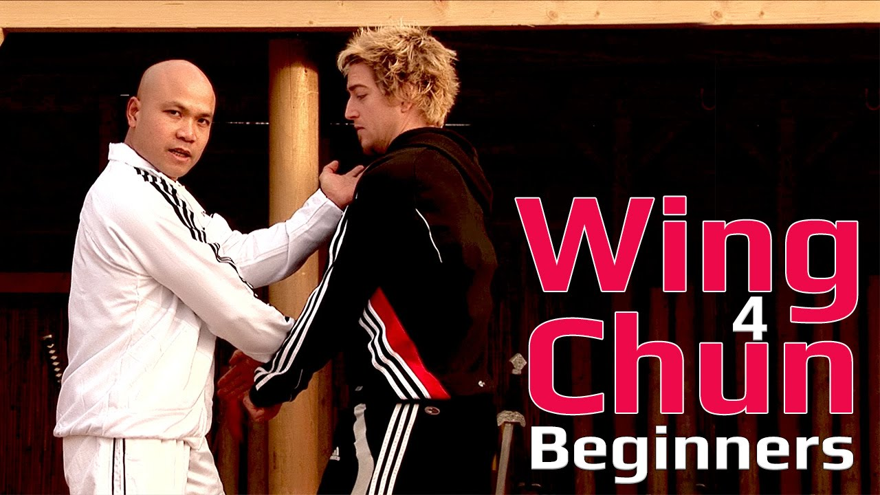 Wing Chun For Beginners Lesson 42  Wing Block To Punch