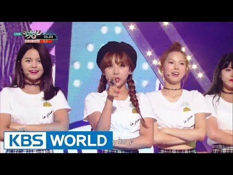 CLC - No Oh Oh (아니야) [Music Bank / 2016.07.01]