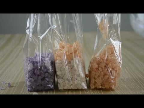 How to Make Bath Salts   Gem Stone Bath Salts Tutorial