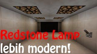 TIPS Minecraft: Cara menggunakan Redstone Lamp menjadi modern