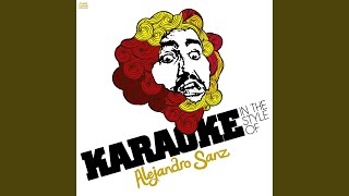 Mi Soledad Y Yo (Karaoke Version)
