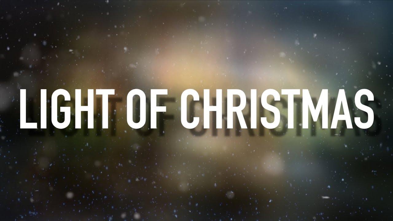 Light Of Christmas Lyrics.Light Of Christmas Feat Owl City Lyric Video Tobymac