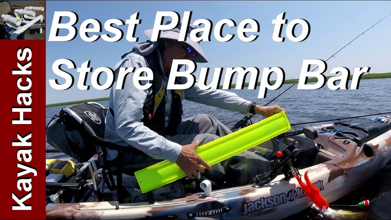 Fishing Kayak Setup Ideas Fishing Bump Board Youtube